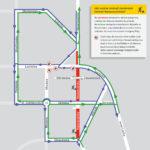 Schemat sugerowanych objazdów od 30.05.2020