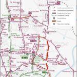 Schemat komunikacji publicznej i buspasów od 30.05.2020